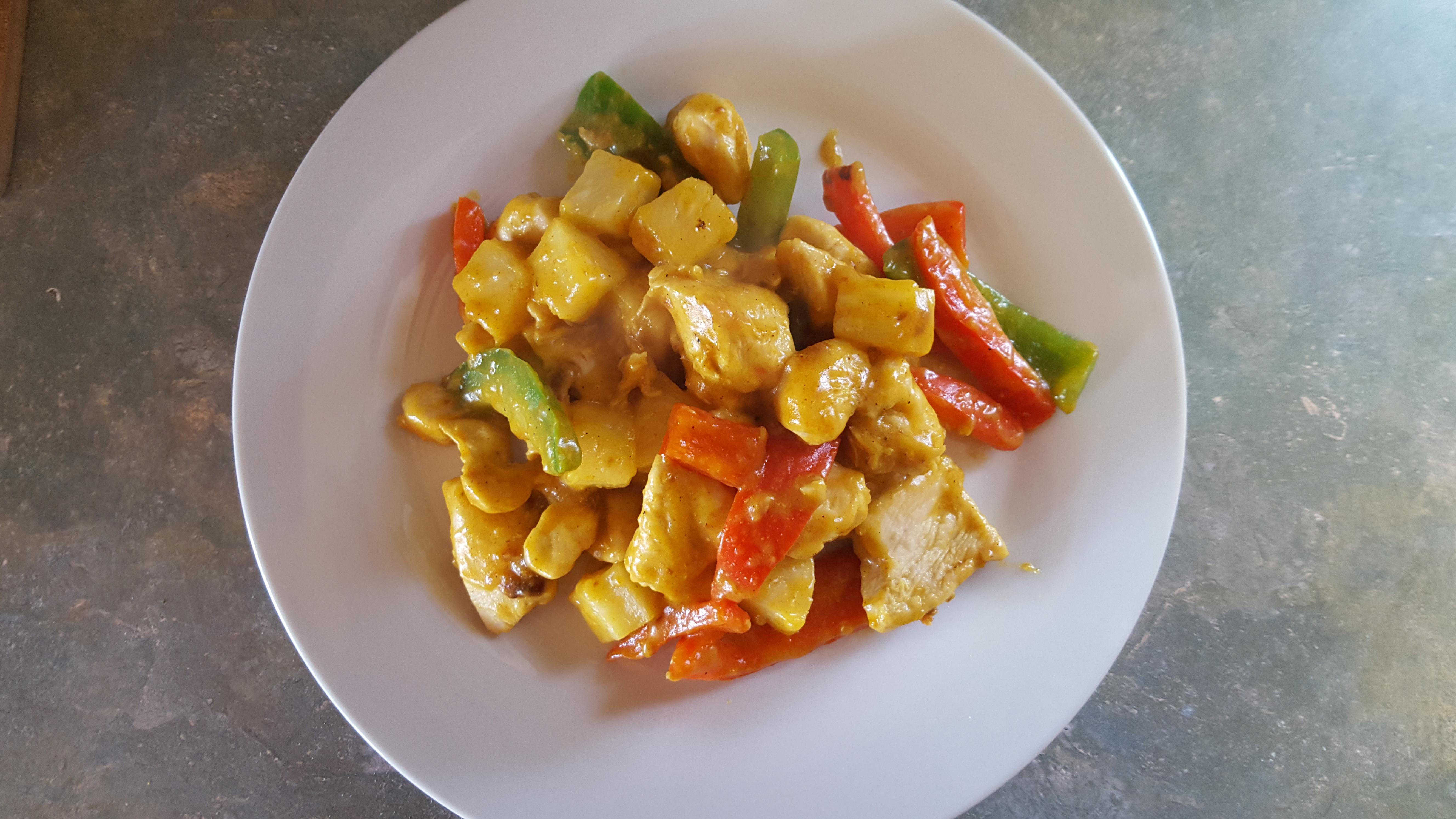 Pineapple chicken 2